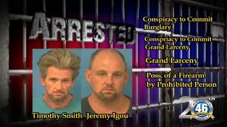 06/01/2017 Arrested Timothy Smith & Jeremy Igou | Nye County Sheriff's Office