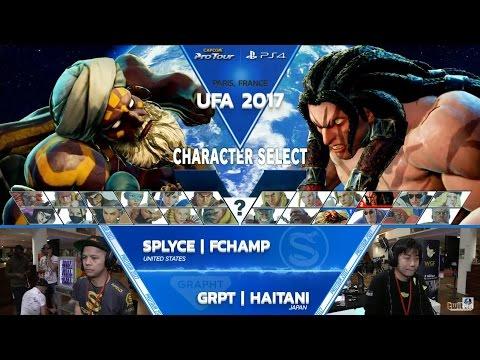 SFV: SPLYCE FChamp vs GRPT Haitani - UFA 2017 Losers Final - CPT 2017