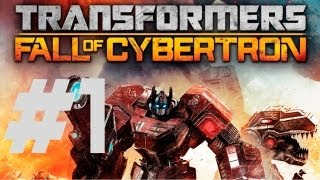 Transformers: Fall of Cybertron - Walkthrough Part 1 - Chapter 1: The Exodus (Intro)