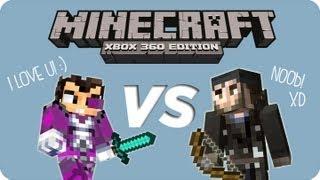 MineCraft Xbox360 - ¡Sky Hunt! Vegetta777 VS Gona89