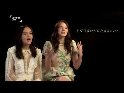Anya Taylor-Joy and Olivia Cooke talk toxic friends, horses, and Thoroughbreds | London Live