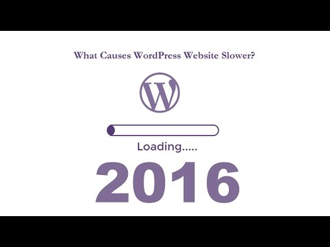 How to find file that slow wordpress website in 2016 - What Causes wordpress website Slower 2016