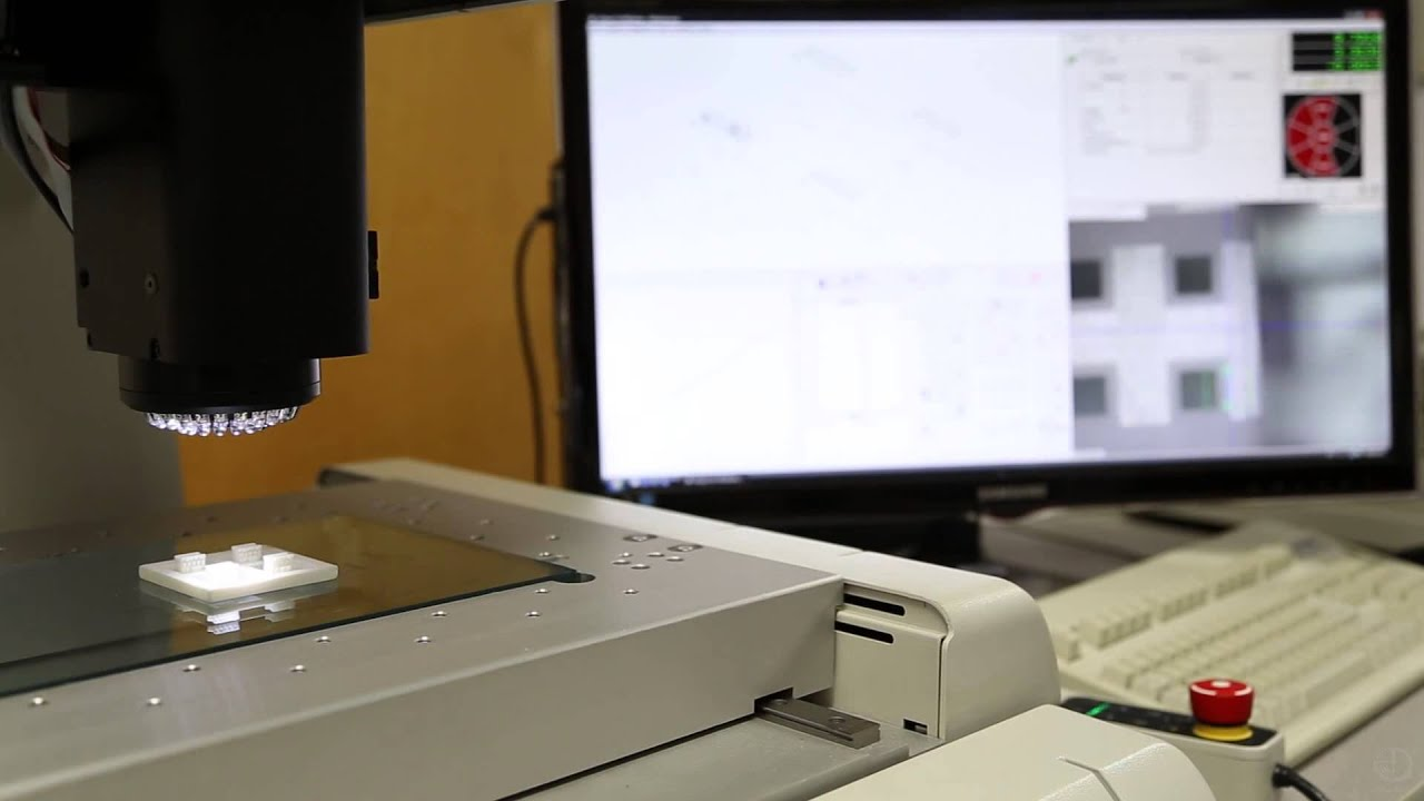Vms cnc video measuring machine demo youtube.