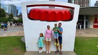 ВЛОГ Музей Кока-Колы в Атланте - World of Coca Cola