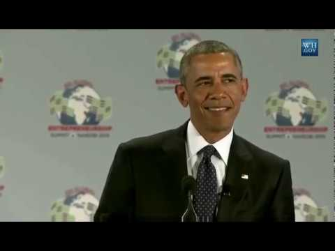 President Obama speaks Swahili!