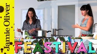Hemsley + Hemsley Live On Stage @ Feastival