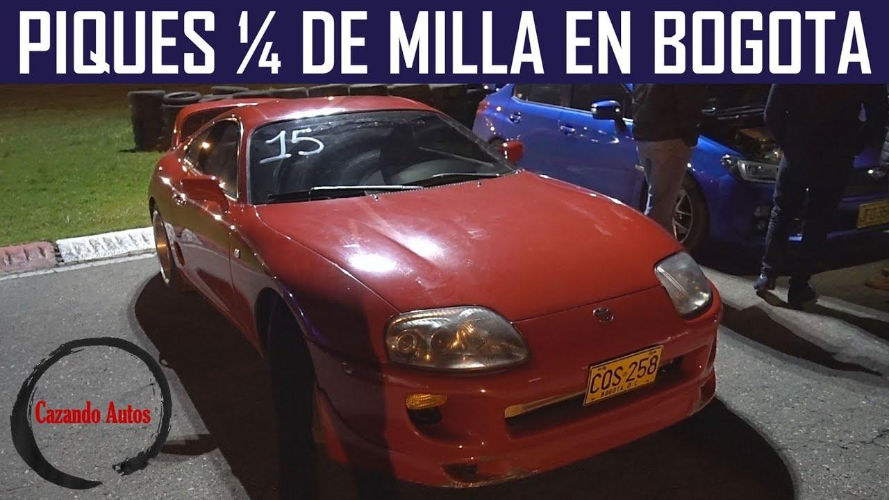 Como se viven los Piques 1/4 de milla en Bogota? - Supra, GTR, BMW y mas