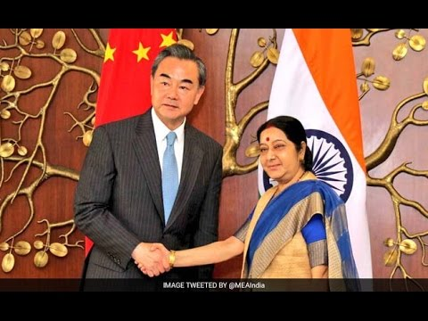 Wang Yi Meets Sushma Swaraj Over India's NSG Bid