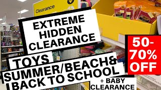 🛒 Target Hidden Clearance | Toys, Summer, Baby & School Items 50-70% Off!   Lots Of Items