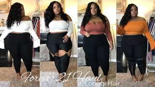 Forever 21 Plus Size Try-On | ft. Longqi Malaysian Body Wave