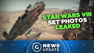 Star Wars Episode 8 On-Set Images Reveal Millennium Falcon [SPOILERS] - GS News Update