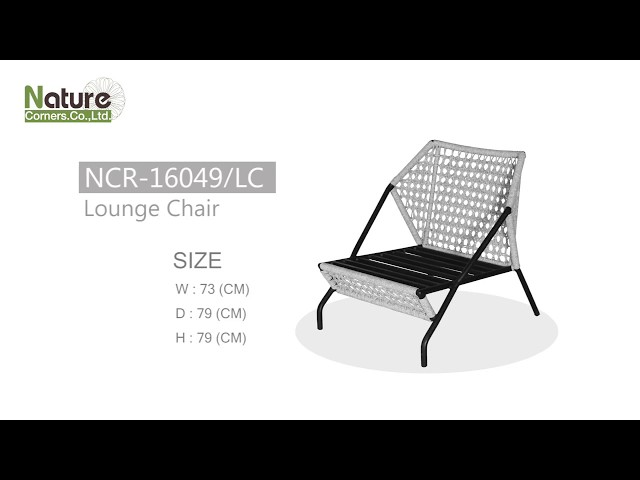 New Collection | NCR-16049/LC #Lounge Chair by Nature Corners