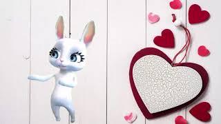 Поздравления с днем влюбленных. Открытки с днем Святого Валентина.