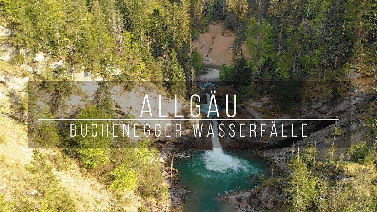 Buchenegger Wasserfälle in 21K   Die schönsten Wasserfälle im Allgäu