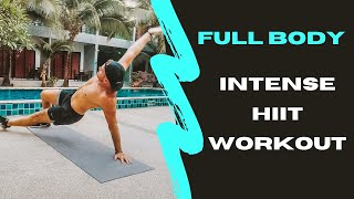 Full Body Intense HIIT Workout
