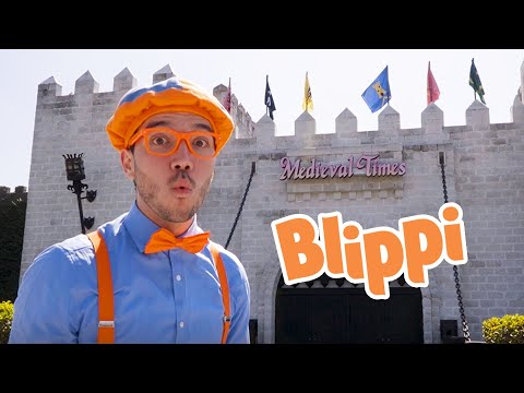 Medevial Blippi and The Castle! Learning With Blippi | Educational Videos For Kids