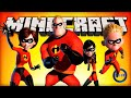 Minecraft Mods - THE INCREDIBLES (SUPER POWERS)! - Minecraft Mod Review