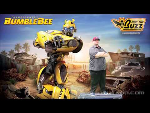 Bumblebee Buzz Weekend at Universal Studios Hollywood October 13-14 2018 #JoinTheBuzz