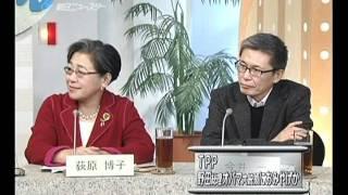 「TPP 野田総理オバマ大統領と約束か」 ◇「原発 帰れない区域を小出...