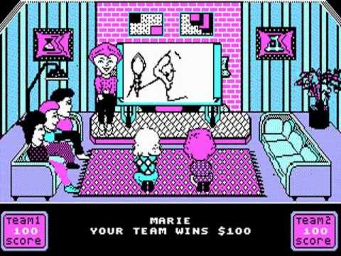 Win Lose Or Draw Pc Game 1988 Youtube
