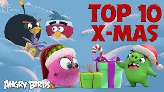 Angry Birds - Top 10 Holiday Moments | Christmas Special