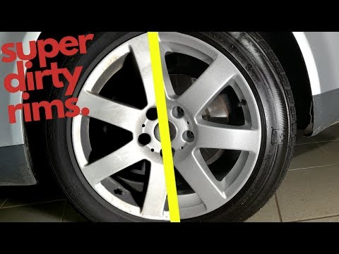 HOW TO SUPER CLEAN YOUR DIRTY RIMS PROPERLY ! MUST WATCH