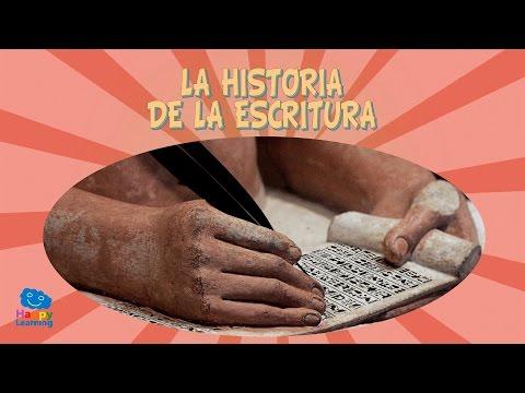 la-historia-de-la-escritura-|-videos-educativos-para-niños