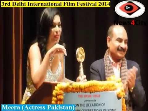 Meera Ali Received Best actress Award in Delhi International Film Festival 2014