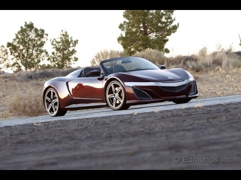 Awesome Iron Manu0027s Acura NSX Roadster | The Avengers | Edmunds.com   YouTube