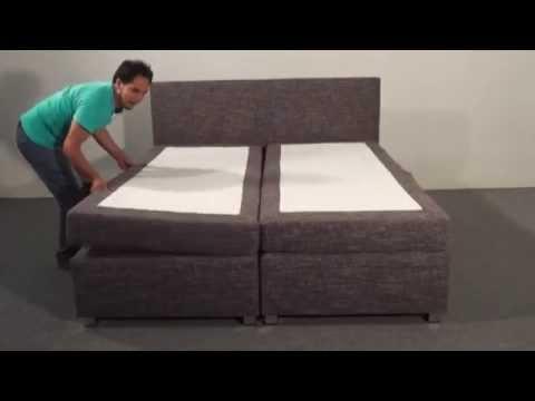 Boxspringbett aufbauanleitung  Montage / Aufbau Boxspringbett von MÖBEL EINS - YouTube