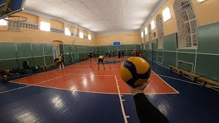 Волейбол от первого лица | Лучшая игра ноября | VOLLEYBALL FIRST PERSON | HIGHLIGHTS | 32 EPISODE