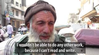 No Rest From Hard Labor For 70-Year-Old Taj Muhammad
