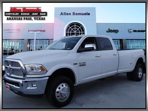 new white 2015 ram 3500 laramie 4x4 near corpus christi kingsville and beeville tx youtube. Black Bedroom Furniture Sets. Home Design Ideas