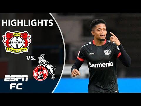 Leon Bailey's brace keeps Leverkusen's European dream alive in win | ESPN FC Bundesliga Highlights