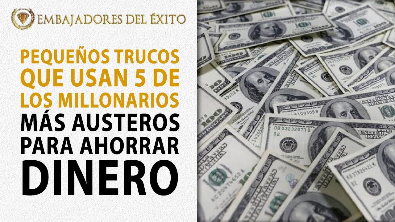 Peque os trucos que usan 5 de los millonarios m s austeros - Trucos ahorrar dinero ...
