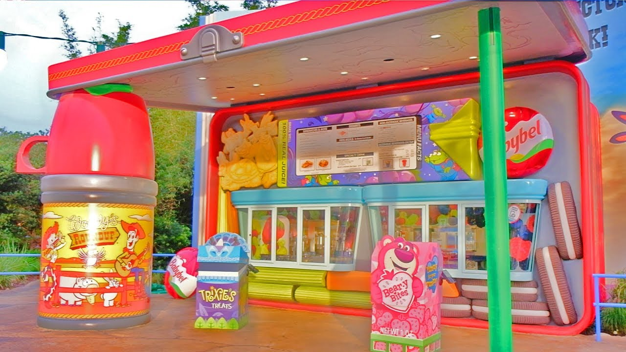 b92fd607999 Woody s Lunch Box tour with food and beverage interview in Toy Story Land  at Walt Disney World
