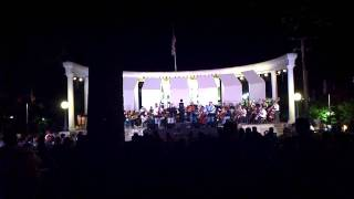 Iron Horse and UNA Symphony Orchestra perform Crazy Train - Bluegrass