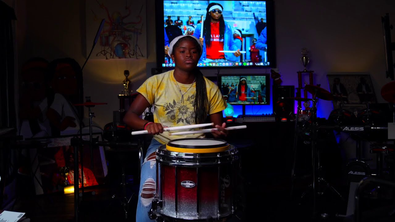 Drum Captain from Atlanta Drum Academy Snare Drum Solo