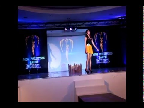 Ms Philippines Earth: Bohol Search- Talent & Swimwear