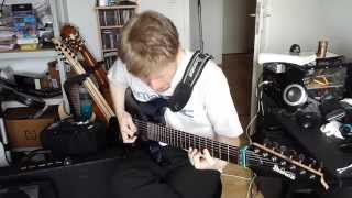 Dream Theater - Act I Scene Two Part 1 - Overture 1928 - Guitar Cover