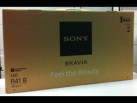 Sony Bravia 28inch LED TV Series- R412B Unboxing (INDIA)