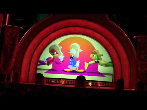 Three Caballeros Finale Animation