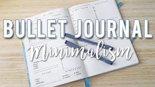 minimalist bullet journal ideas   sam granger