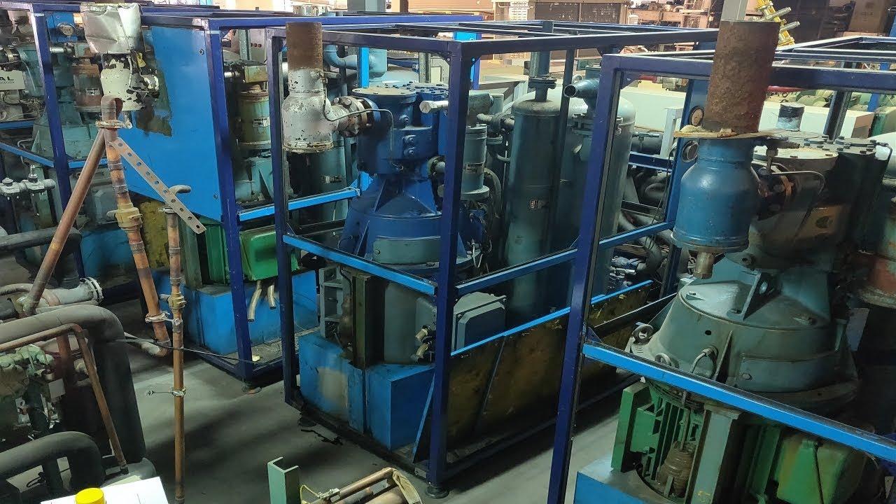 Stal SVR-24-EB vertical screw compressor testing refrigeration Freon R22 /  404 / NH3 Ammonia
