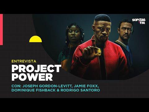 En YouTube: Entrevista I Project Power, la nueva película de Netflix con Joseph Gordon-Levitt y Jamie Foxx