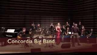 """Chega de Saudade"" [No More Blues] - Concordia Big Band (Antonio Carlos Jobim)"