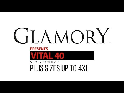 51558d05e Glamory Vital 40 Support Tights - Plus Size Product Video - YouTube