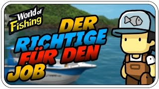 ICH BIN PROFI! - WORLD OF FISHING #001 - Deutsch German - Dhalucard