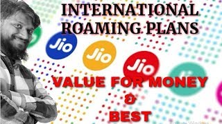 Jio | Best International Roaming Plans | Jio International Roaming Plans | Jio Mobile