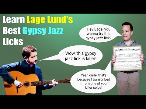 Learn Lage Lund's Best Gypsy Jazz Licks